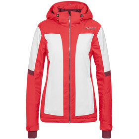 Maier Sports Valisera Jas Dames rood/wit